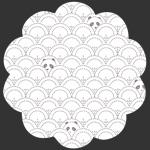 Hidden Panda Cottonbud in Knit