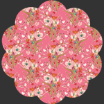 Rosette Square in Knit